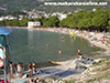 Makarska main beach
