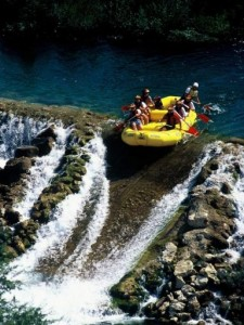 rafting na cetini