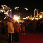 Christmas town in Makarska