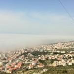 Magla u Makarskoj