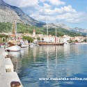 Makarska waterfront