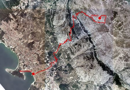 brdska utrka Makarska Vošac