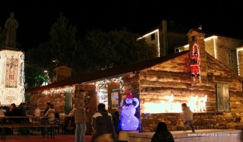 Božićni grad Makarska 2012